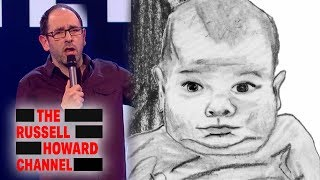 Steve Hall Paid $500 For This Painting Of His Daughter | Russell Howard