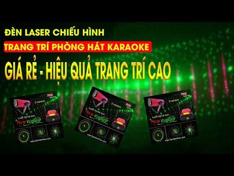 Đèn Laser phòng karaoke giá rẻ chất lượng tuyệt vời