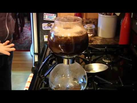 Yama Siphon Coffee Pot Demo - Tested.com Quick Look