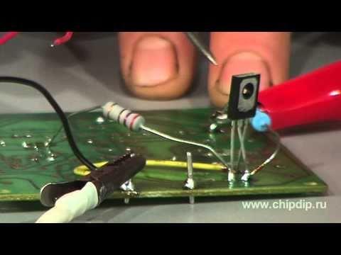 Как сделать транзисторный