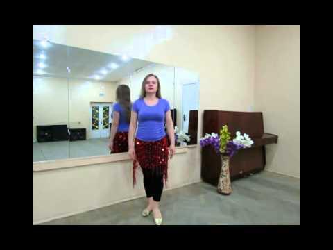 Смотреть онлайн танцы: Упр-я со сбросом бедра. Упр.2 Сброс с ударом коленом