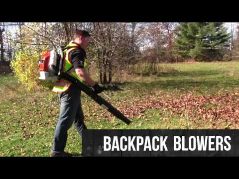 Fall Cleanup and Leaf Removal Equipment