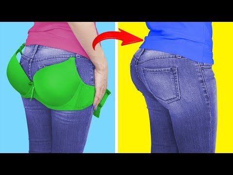 21 Lazy Girl Hacks / Weird Life Hacks That Work Great