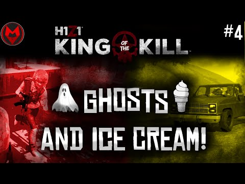 Ghosts And Ice Cream! - H1Z1: KotK Funny Moments #4