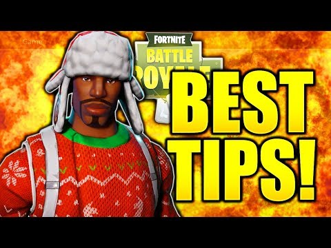 #1 TIP HOW TO IMPROVE AT FORTNITE! - HOW TO GET BETTER AT FORTNITE CONSOLE TIPS PS4/XBOX!