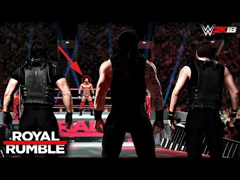 WWE 2K18 Custom Story - The Shield Calls Out Jinder Mahal Royal Rumble 2017 ft. Lesnar, Cena -PART 9
