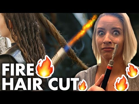 What is a FIRE HAIRCUT?! (Beauty Trippin)