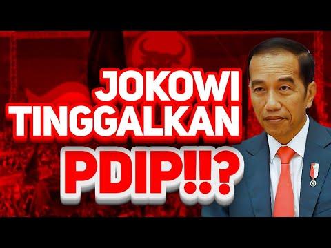 WAH!! JOKOWI TINGGALKAN PDIP!!?