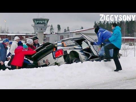 crash jari mati latvala rally sweden 2015