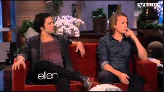 Ylvis The Fox , The Whole Interview At The Ellen Degeneres Show