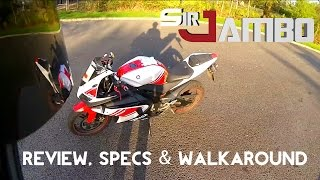 6. Yamaha YZF R125 Review, Specs & WalkAround - SirJambo