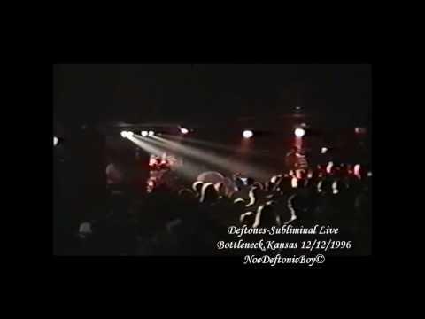 Deftones - Subliminal Live @ Bottleneck Lawrence, Kansas 8/11 Live 12/12/1996