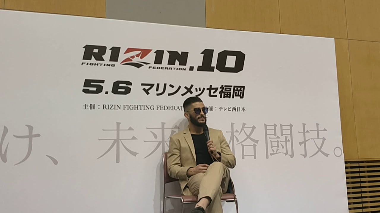 Ian McCall Rizin FF 10 Post Fight Interview - Gazeta Esportiva/MMA PLUS