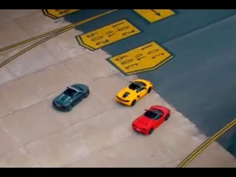 Supercar Runway Race | Top Gear | Series 20 | BBC
