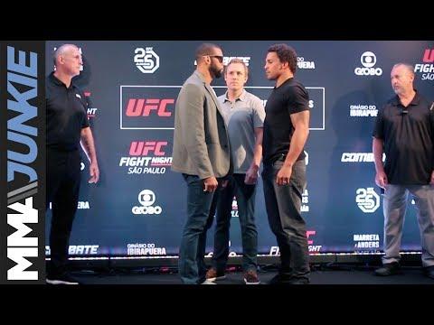 UFC Sao Paulo: Media day face-offs