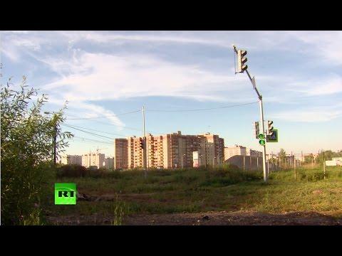 В Ярославле обнаружили светофор, установленный на пустыре вдали от дорог. Слабонервным не смртореть!