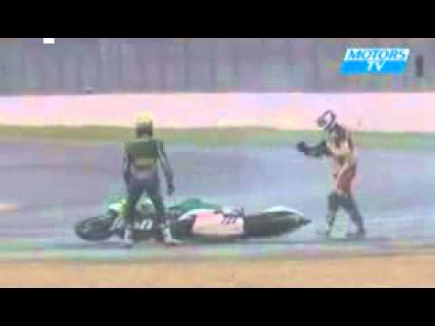Kecelakaan Lucu MOTO GP Funny Crash (Video)