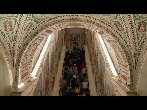 Ρώμη: «Άνοιξε» η Αγία Σκάλα