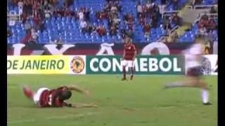 Flamengo 1 x 0 Atletico-PR Copa Sul-Americana 10/08/11.