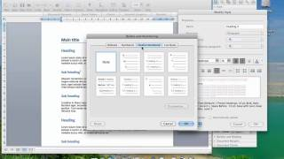 Video Using formatting styles in Word 2008 for OSX MP3, 3GP, MP4, WEBM, AVI, FLV Juli 2018