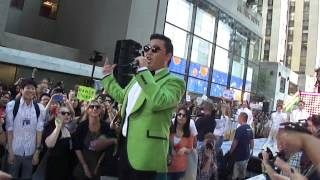 PSY Encore Performance Gangnam Style @ Today Show Concert Series NYC 9/14