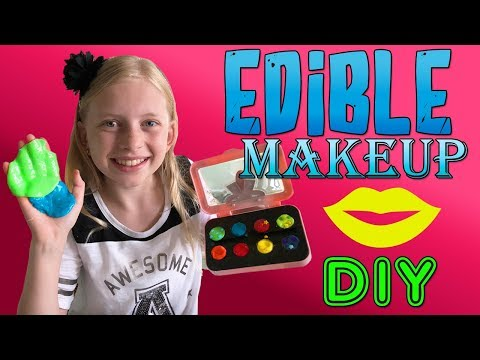 DIY Edible Eye Shadow! (видео)
