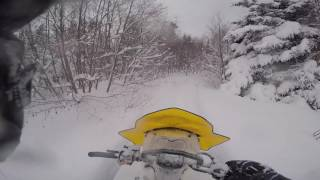 5. Ski doo Tundra 600 ACE LT 2017 in Newfoundland 2 1/2 feet of Fresh Snow