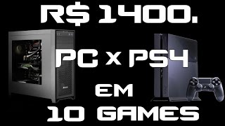 R$ 1400. PC Gamer Baratinho ou PS4? Testes em Watch Dogs 2 +9 ...