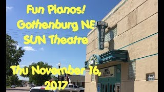 Fun Pianos dueling pianos returns to Gothenburg NE on 11/16/17 Get your tickets at the SUN Theatre box office, or at ...