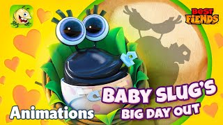 Baby Slug's Big Day Out - A Best Fiends Animation