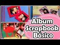 Album de fotos - Scrapbook básico - YouTube