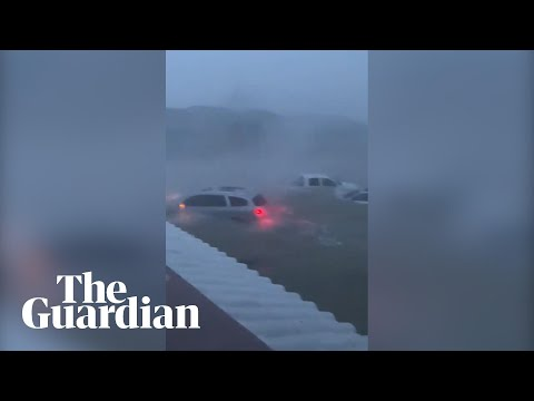 Hurricane Dorian lashes Bahamas with ferocious winds and flash flooding