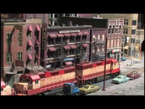 ho scale - Purchase at -- www.greenfrog.com This is a VERY High Quality, TOP Level Video Production featuring this HO Scale Model Railroad. This Layout is located in St...