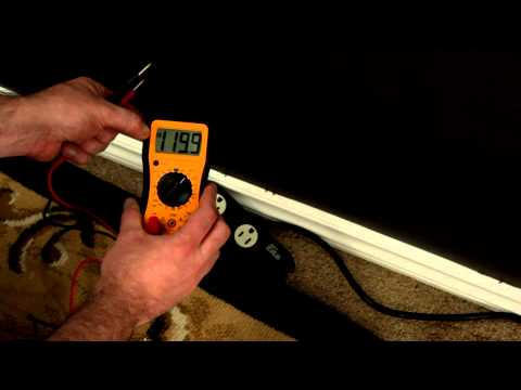 How to use a multimeter to check voltage, continuity and battery charges