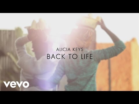 """New Video: Alicia Keys – Back to Life (from the Motion Picture """"Queen of Katwe"""") [Lyric Video]"""