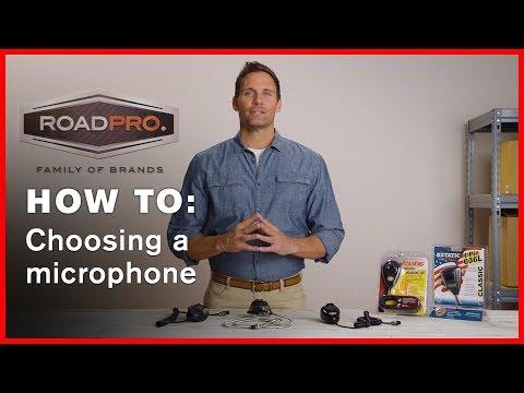 CB Radio How To #3 - How to Choose a CB Radio Microphone