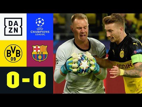 Privatduell! Ter Stegen lässt Reus keine Chance: Dortmund - Barcelona 0:0   Champions League   DAZN
