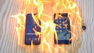 Video Burning Samsung Galaxy S8 Plus vs iPhone 7 Plus - Which Is Stronger? MP3, 3GP, MP4, WEBM, AVI, FLV Juni 2017