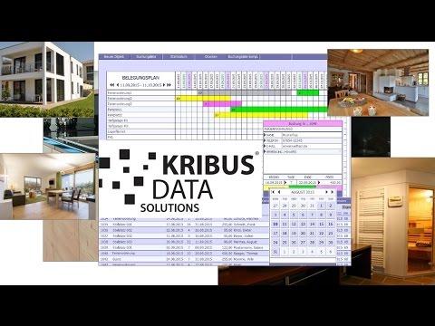 Belegungsplan Ferienwohnungen Ferienhäuser Kalender Software Mac Windows iPad