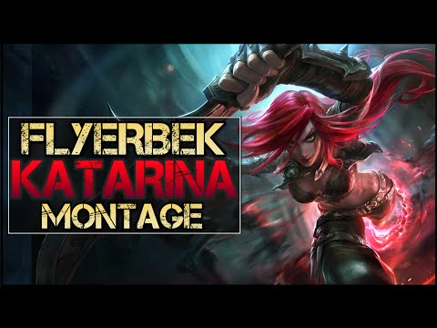 Katarina xoay như chong chóng gặp gió trong tay Flyerbek