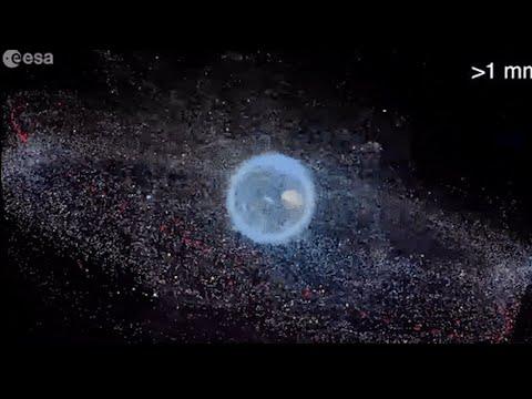 Video - Πρώτη αποστολή απομάκρυνσης διαστημικών σκουπιδιών στον κόσμο, από τον ΕΟΔ