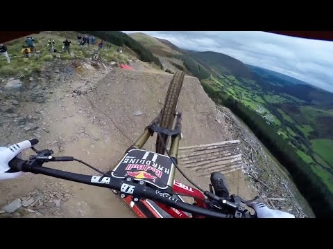 One of the toughest mountain bike tracks ever