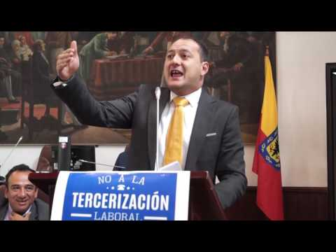 Política laboral de Peñalosa es contra los trabajadores: Manuel Sarmiento