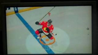 Quick Clips with Rammer in NHL 11 - Celebration&Hit