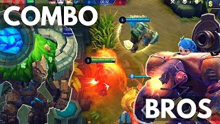 JAWHEAD AND GROCK : WHY THEY ARE BEST BROS | Mobile Legends