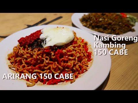 GILA!! 300 Cabe Challenge Dari Warung Gelo Dalam 4 Menit