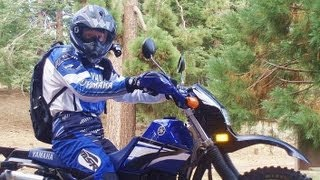 5. YAMAHA XT225 DUALSPORT RIDE - 9/1/2011