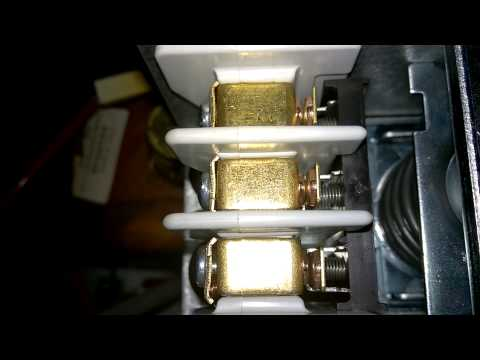 Gaggia GD One Contact Pressure Switch.