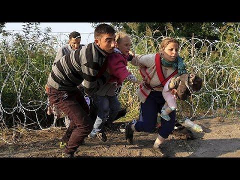 Ουγγαρία: Η πορεία προς τα βόρεια συνεχίζεται παρά τα συρματοπλέγματα