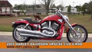 10. Used 2005 Harley Davidson VRSCSE CVO V-Rod Motorcycles for sale
